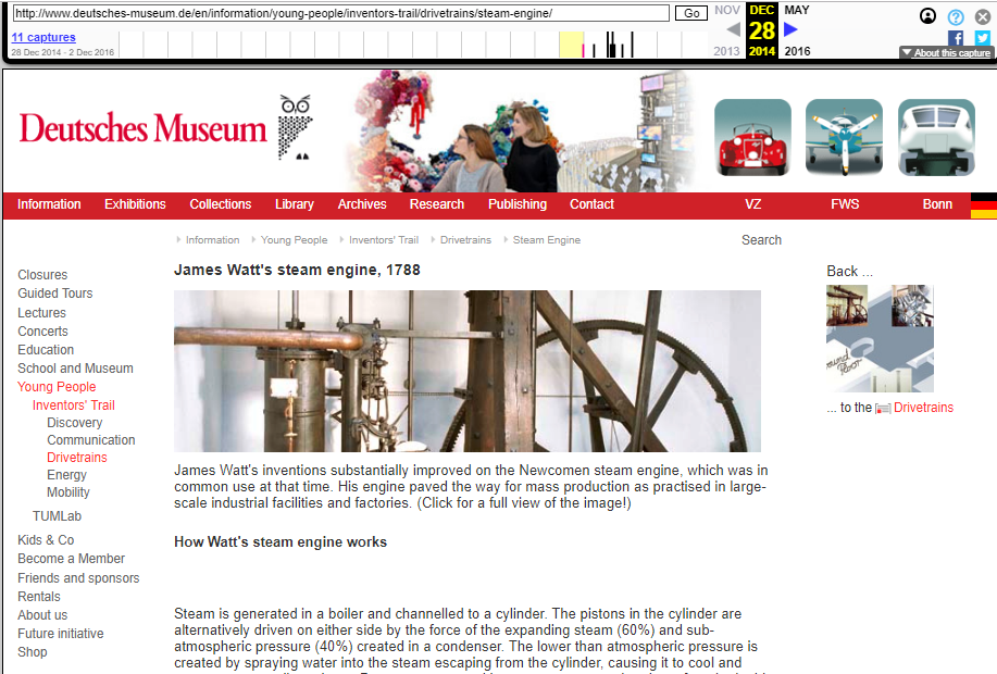 Fragment of the Screenshot of the Object's Page on 28 December 2014